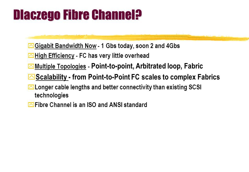 Dlaczego Fibre Channel