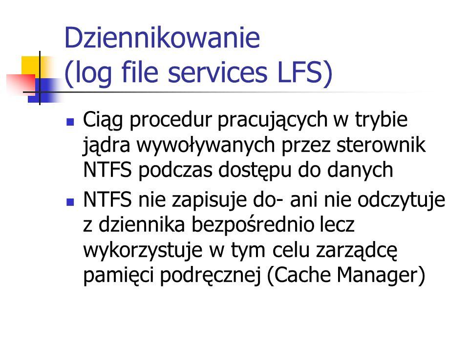 Dziennikowanie (log file services LFS)