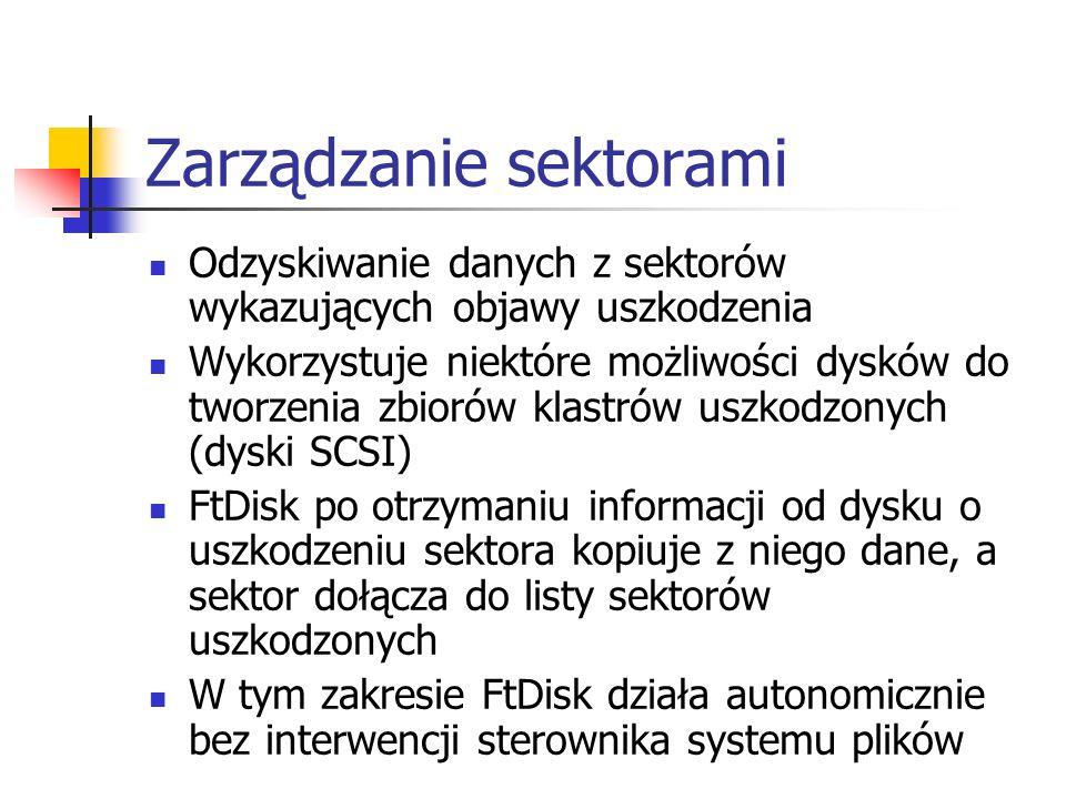 Zarządzanie sektorami