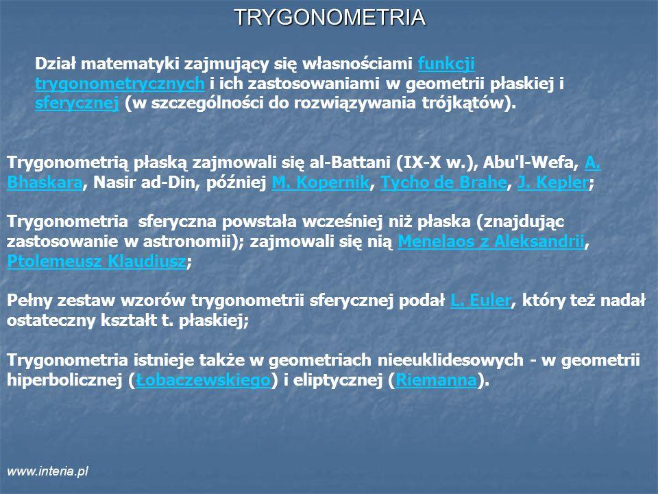 TRYGONOMETRIA