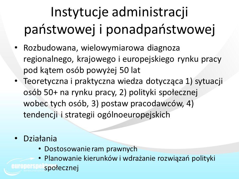 Instytucje administracji państwowej i ponadpaństwowej