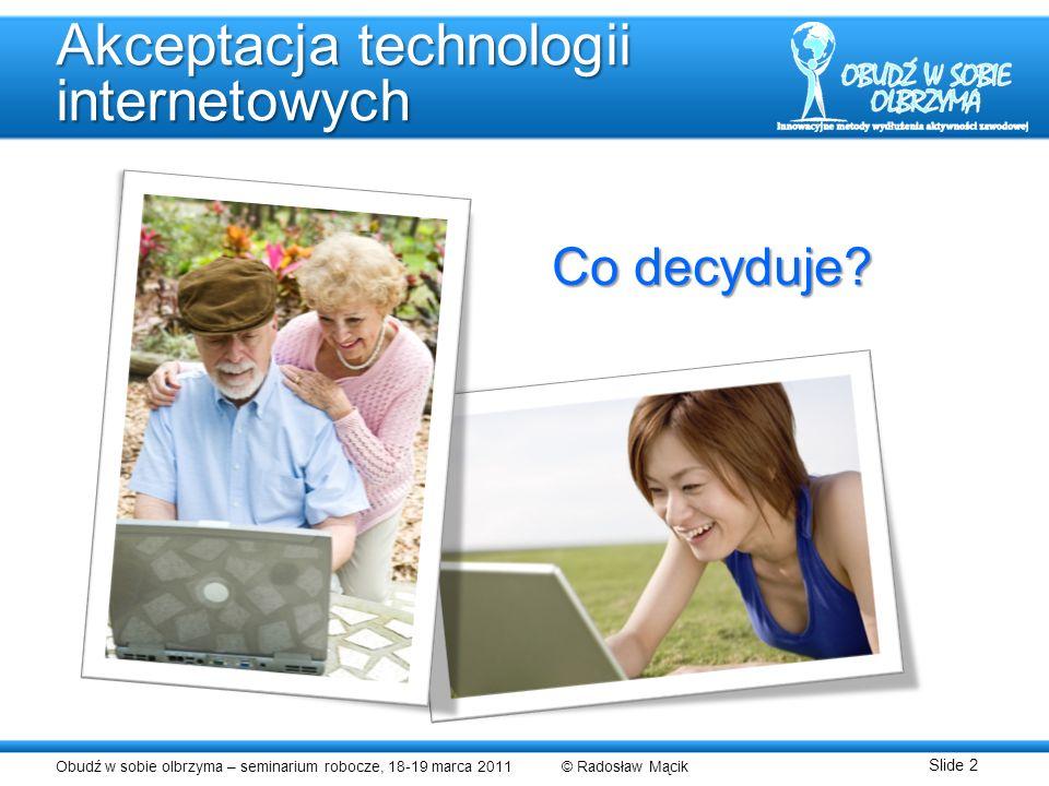 Akceptacja technologii internetowych