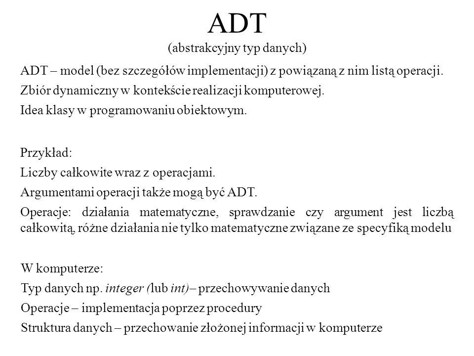 ADT (abstrakcyjny typ danych)