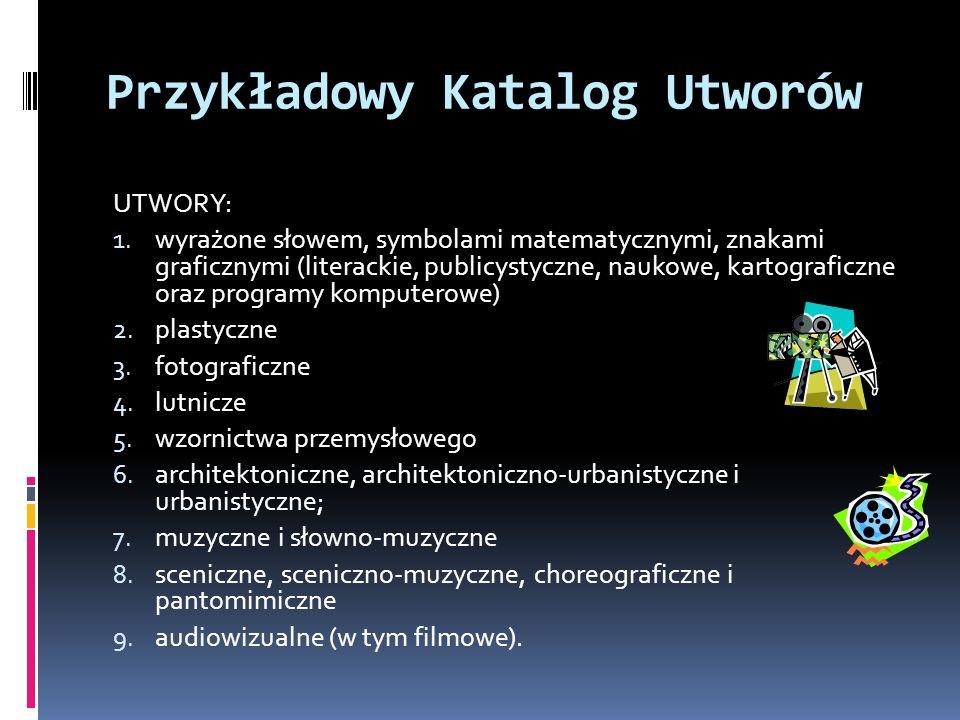 Przykładowy Katalog Utworów