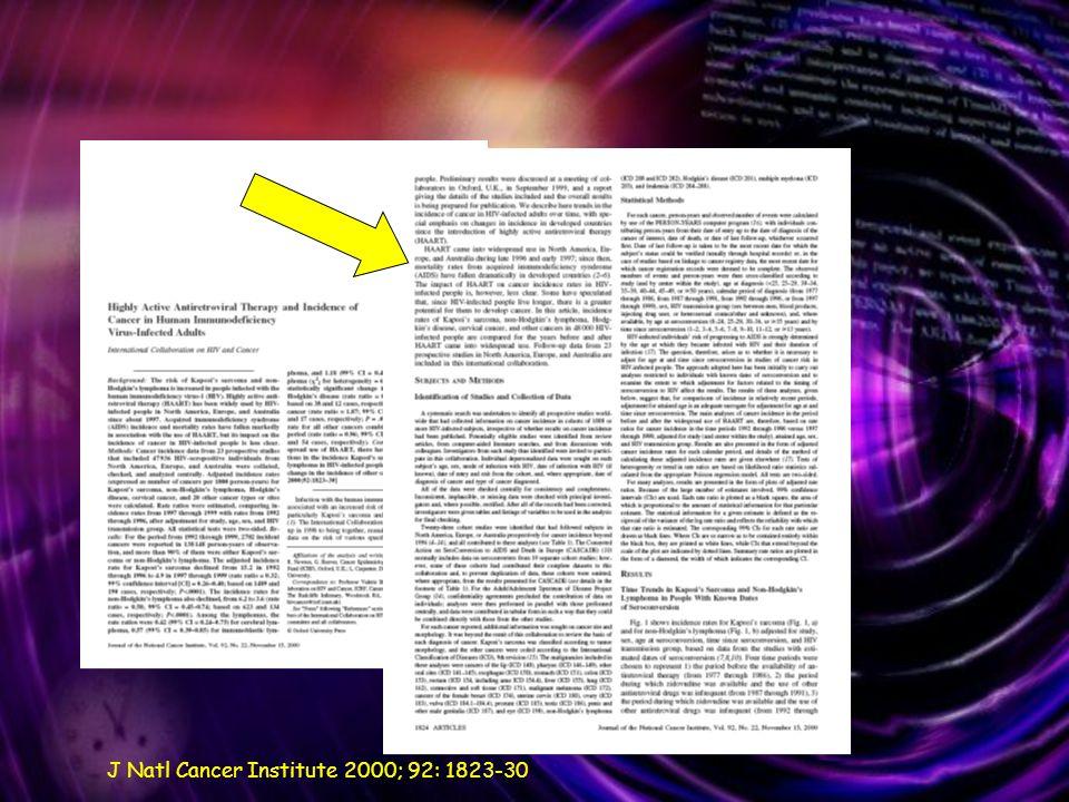 J Natl Cancer Institute 2000; 92: 1823-30