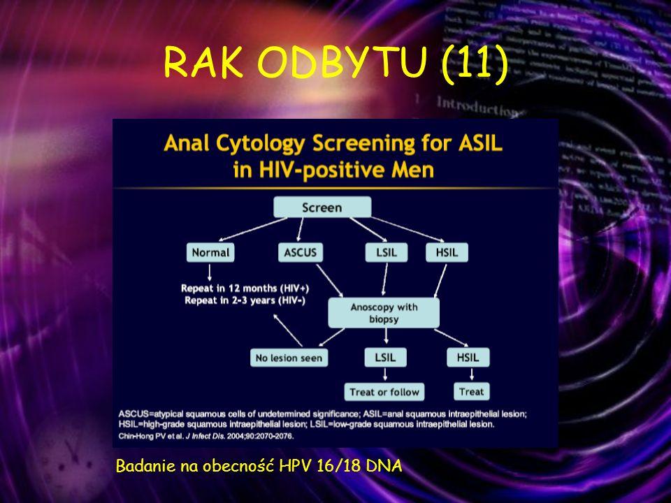 RAK ODBYTU (11) Badanie na obecność HPV 16/18 DNA