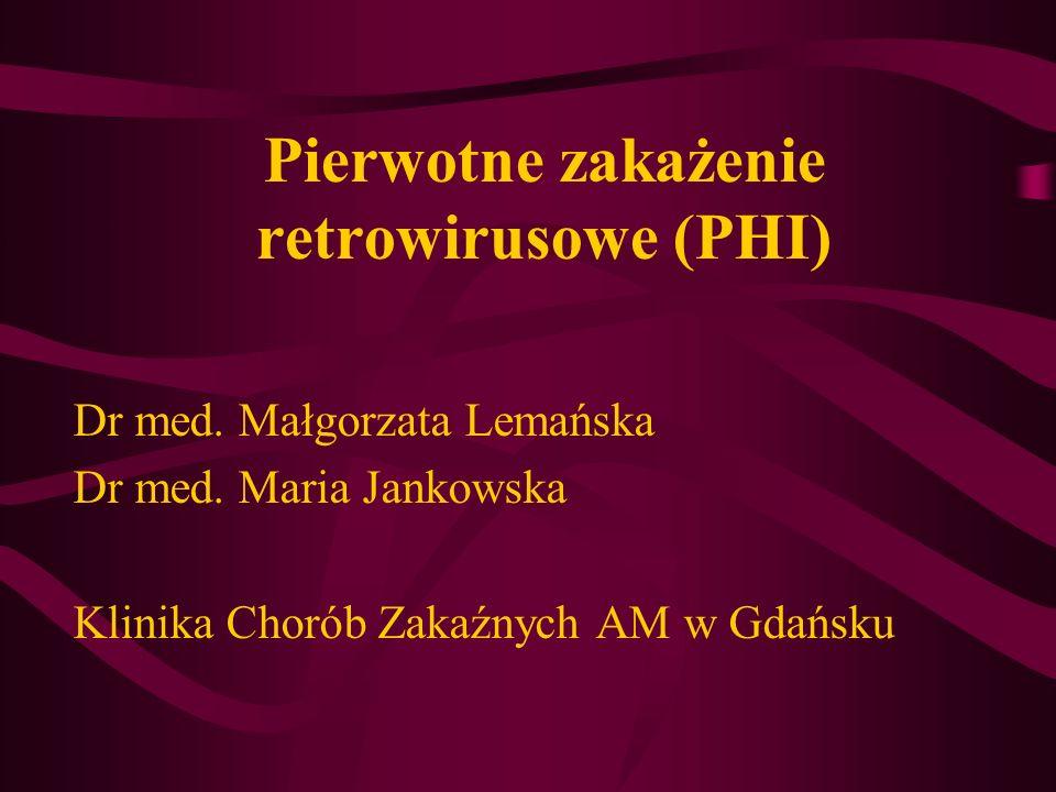 Pierwotne zakażenie retrowirusowe (PHI)