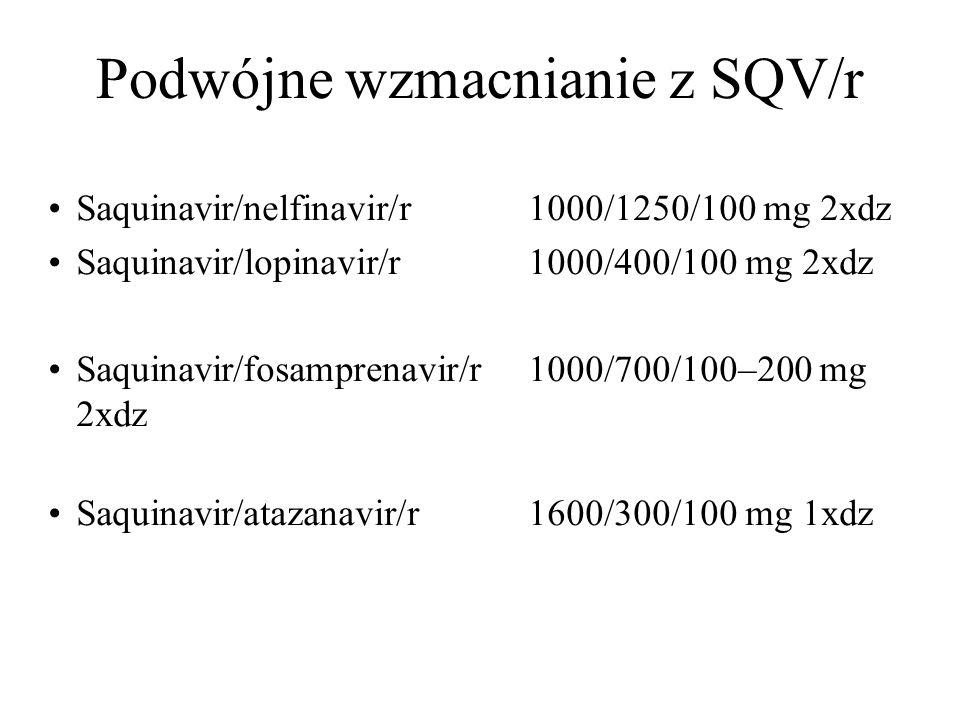 Podwójne wzmacnianie z SQV/r