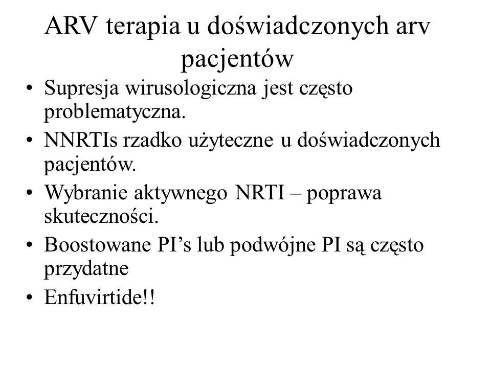 ARV terapia u doświadczonych arv pacjentów