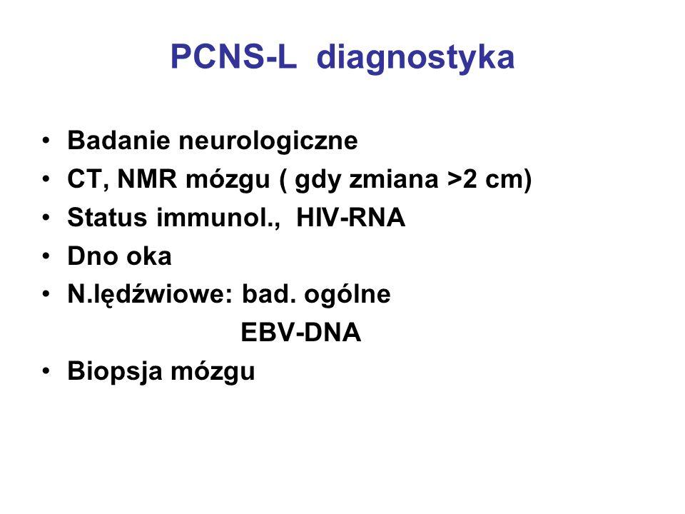 PCNS-L diagnostyka Badanie neurologiczne