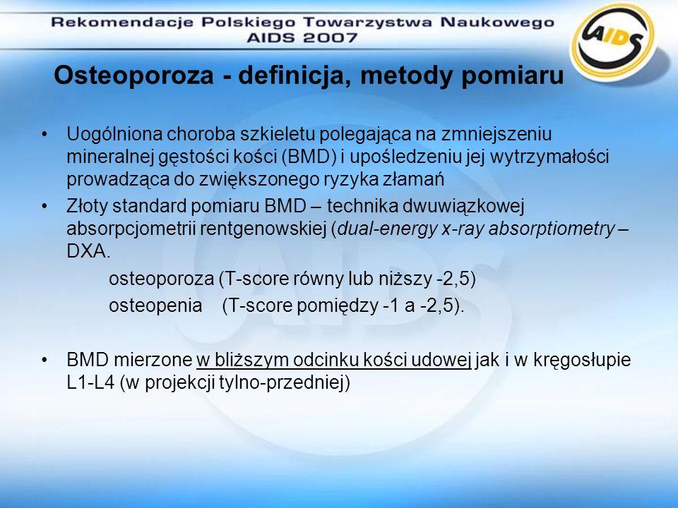 Osteoporoza - definicja, metody pomiaru