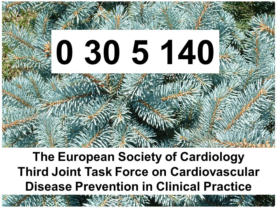 The European Society of Cardiology