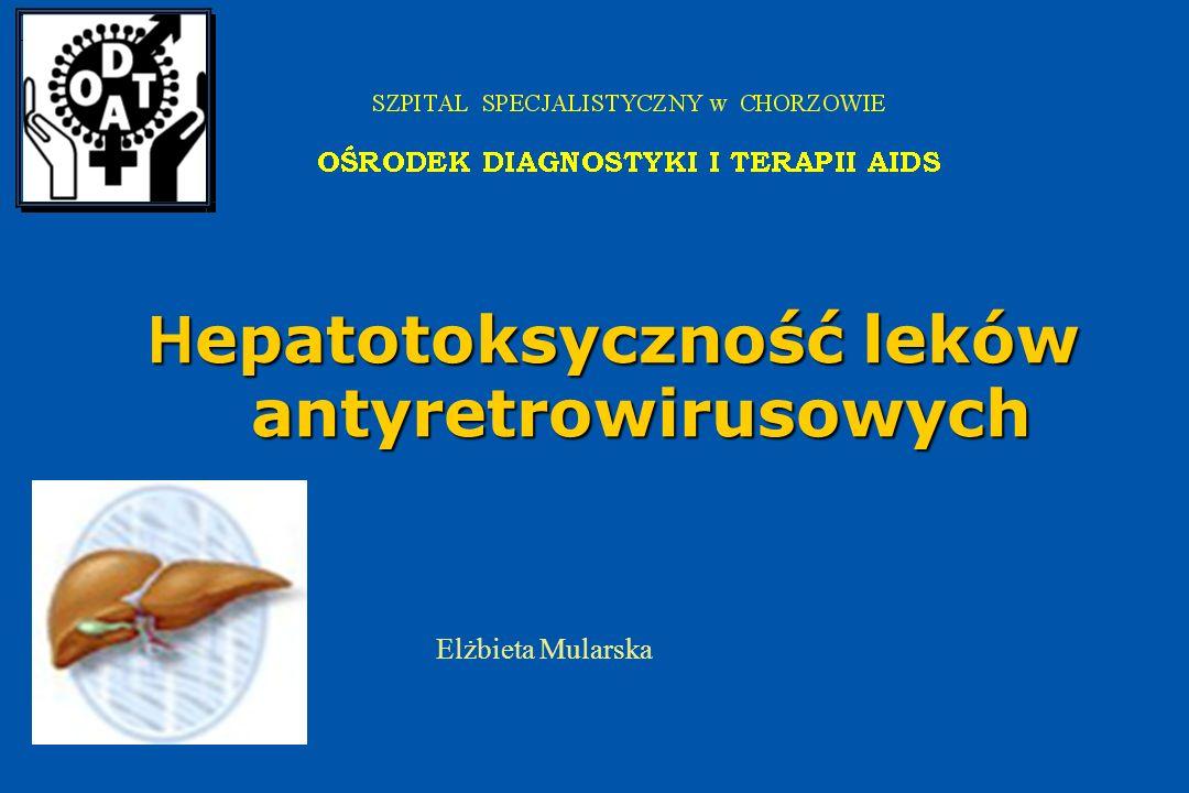 Hepatotoksyczność leków antyretrowirusowych