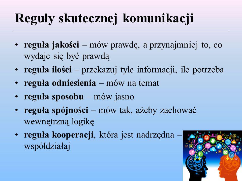 Reguły skutecznej komunikacji