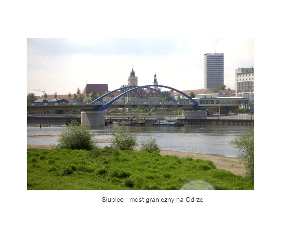 Słubice - most graniczny na Odrze