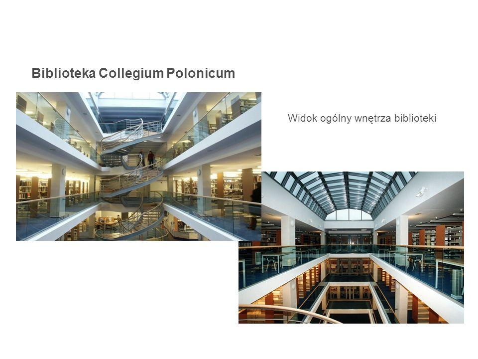 Widok ogólny wnętrza biblioteki