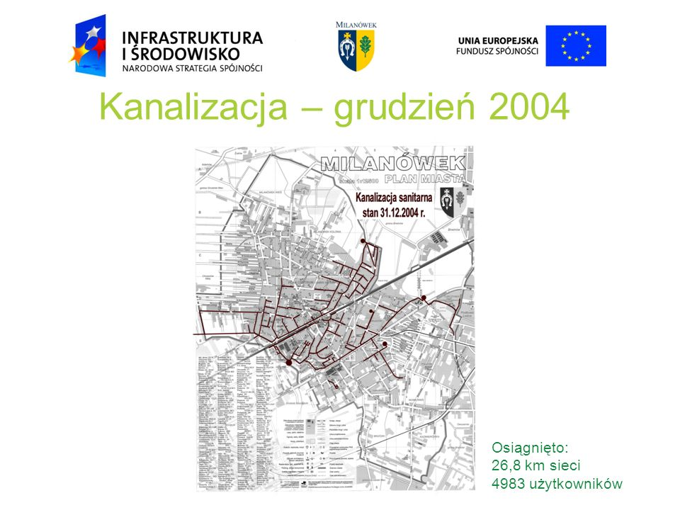 Kanalizacja – grudzień 2004
