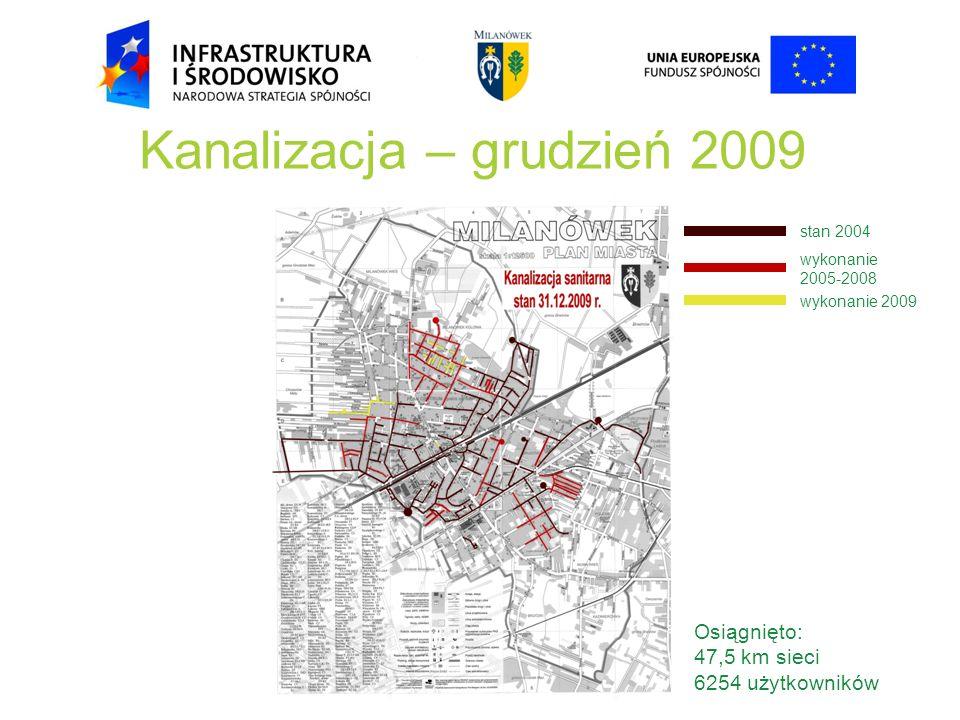 Kanalizacja – grudzień 2009