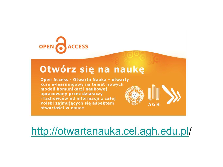 http://otwartanauka.cel.agh.edu.pl/