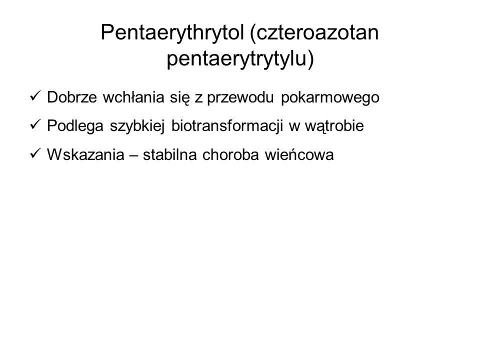 Pentaerythrytol (czteroazotan pentaerytrytylu)