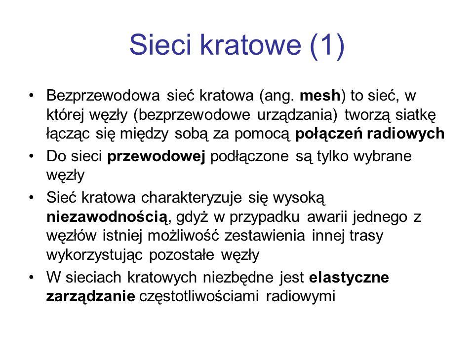 Sieci kratowe (1)