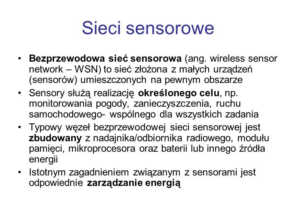 Sieci sensorowe