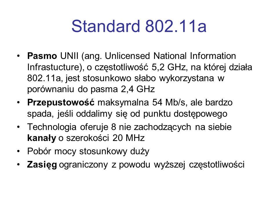 Standard 802.11a