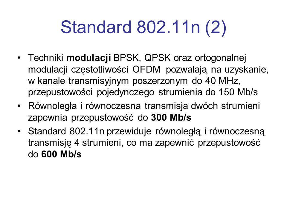 Standard 802.11n (2)