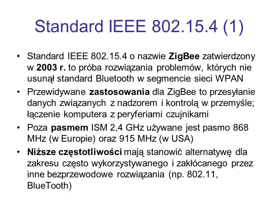 Standard IEEE 802.15.4 (1)