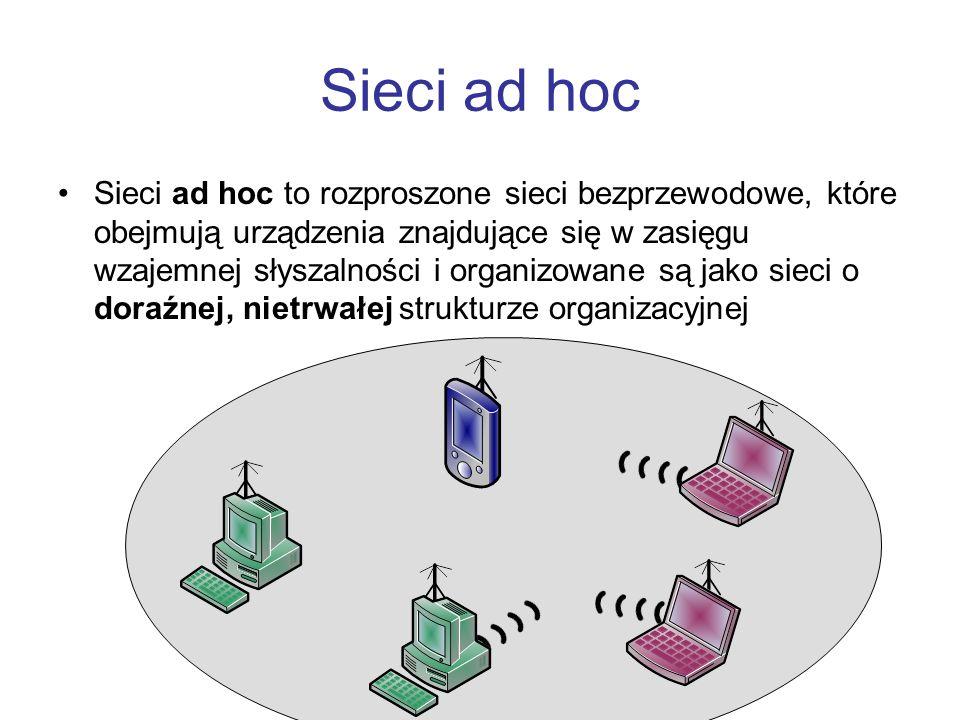 Sieci ad hoc