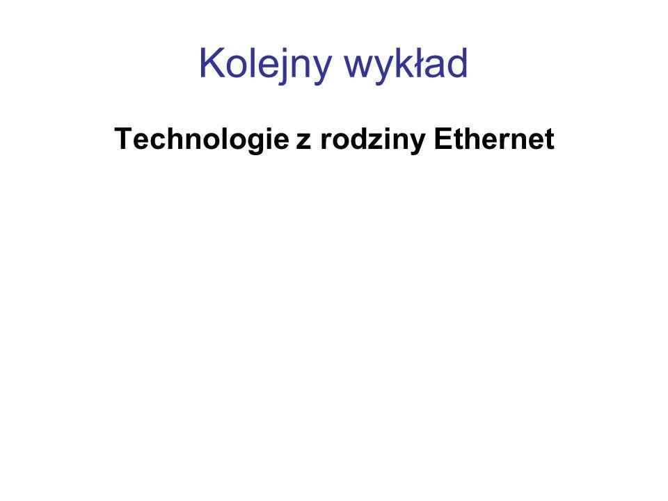 Technologie z rodziny Ethernet