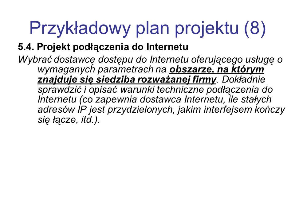 Przykładowy plan projektu (8)