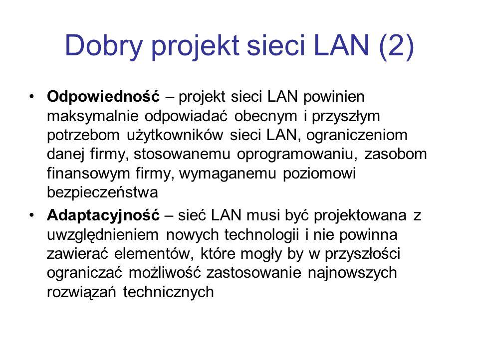 Dobry projekt sieci LAN (2)