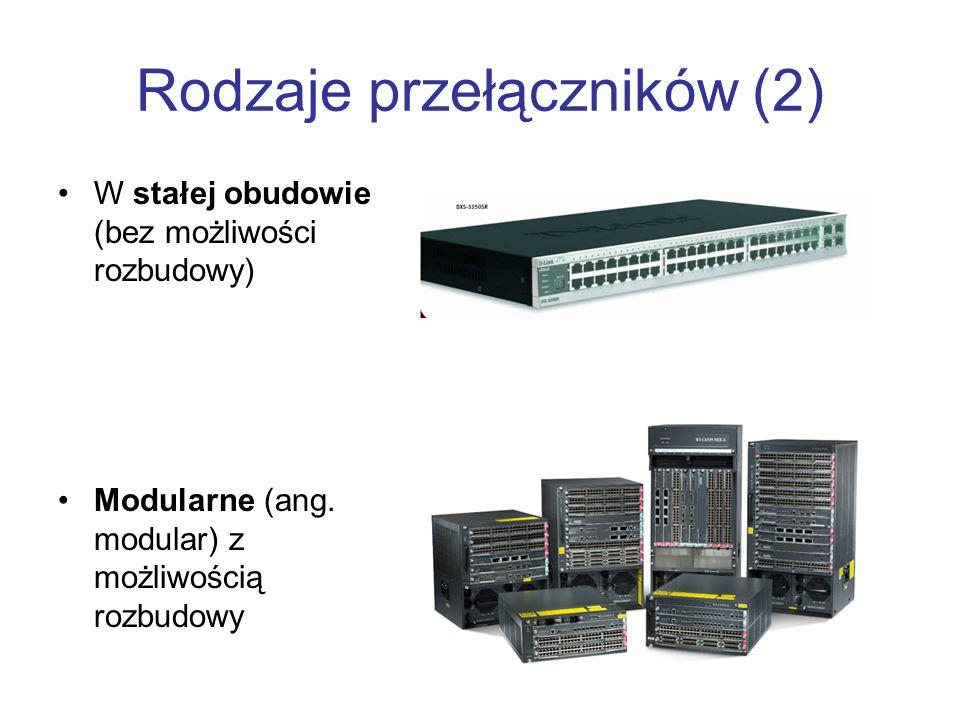 Rodzaje przełączników (2)