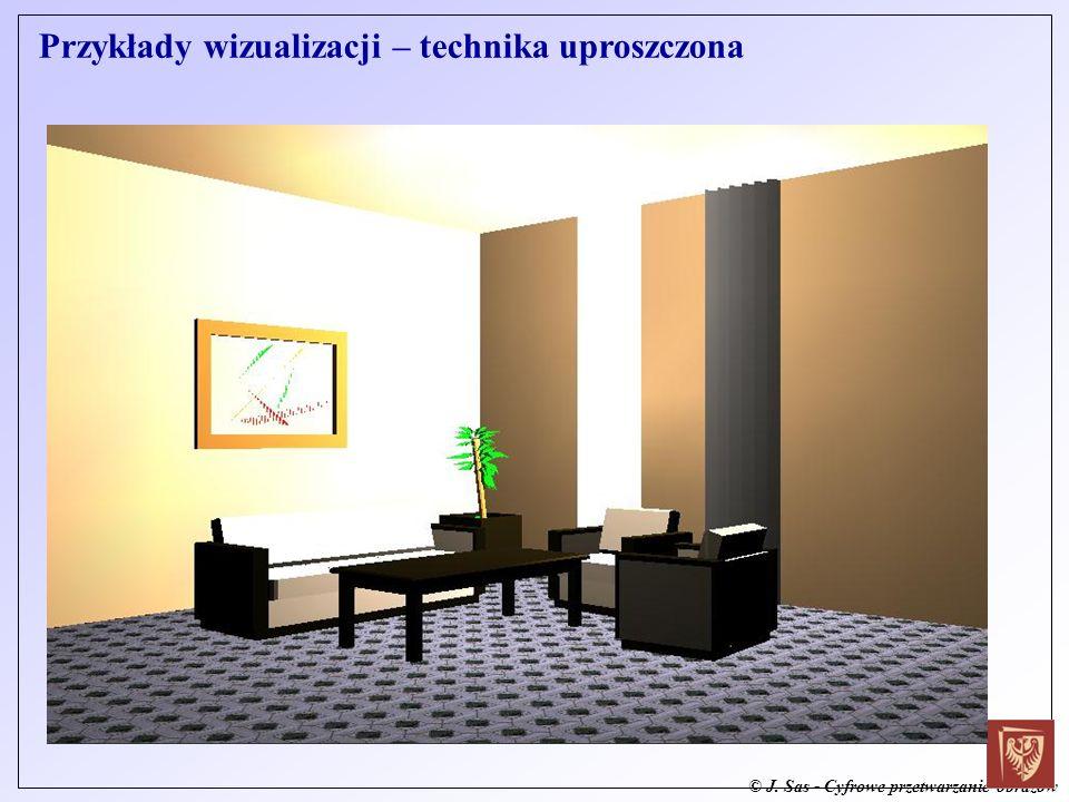 Przykłady wizualizacji – technika uproszczona