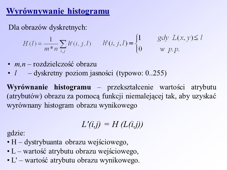 Wyrównywanie histogramu