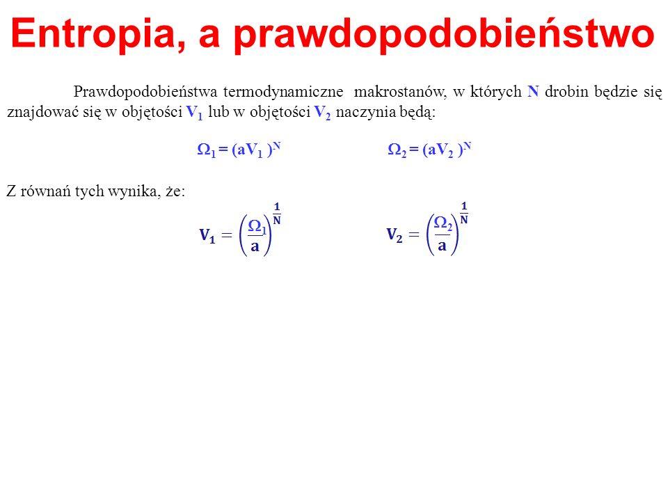 Entropia, a prawdopodobieństwo