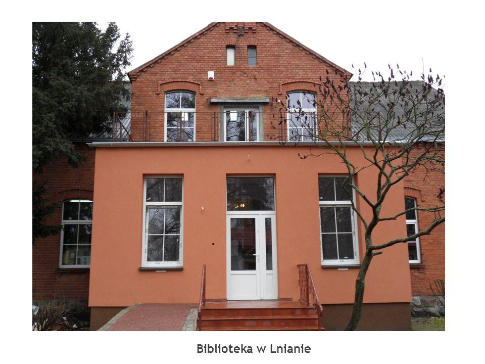 Biblioteka w Lnianie