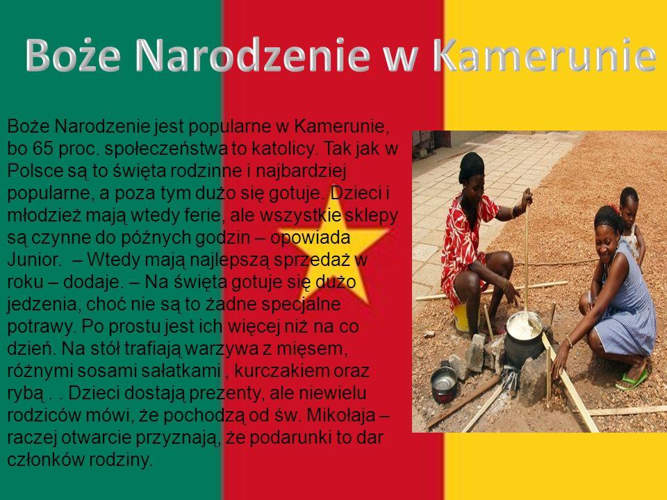 Boże Narodzenie w Kamerunie