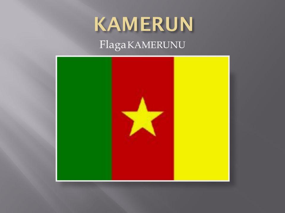 KAMERUN Flaga KAMERUNU