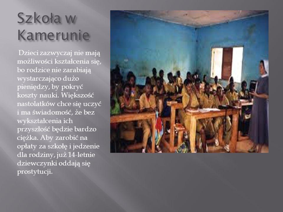 Szkoła w Kamerunie