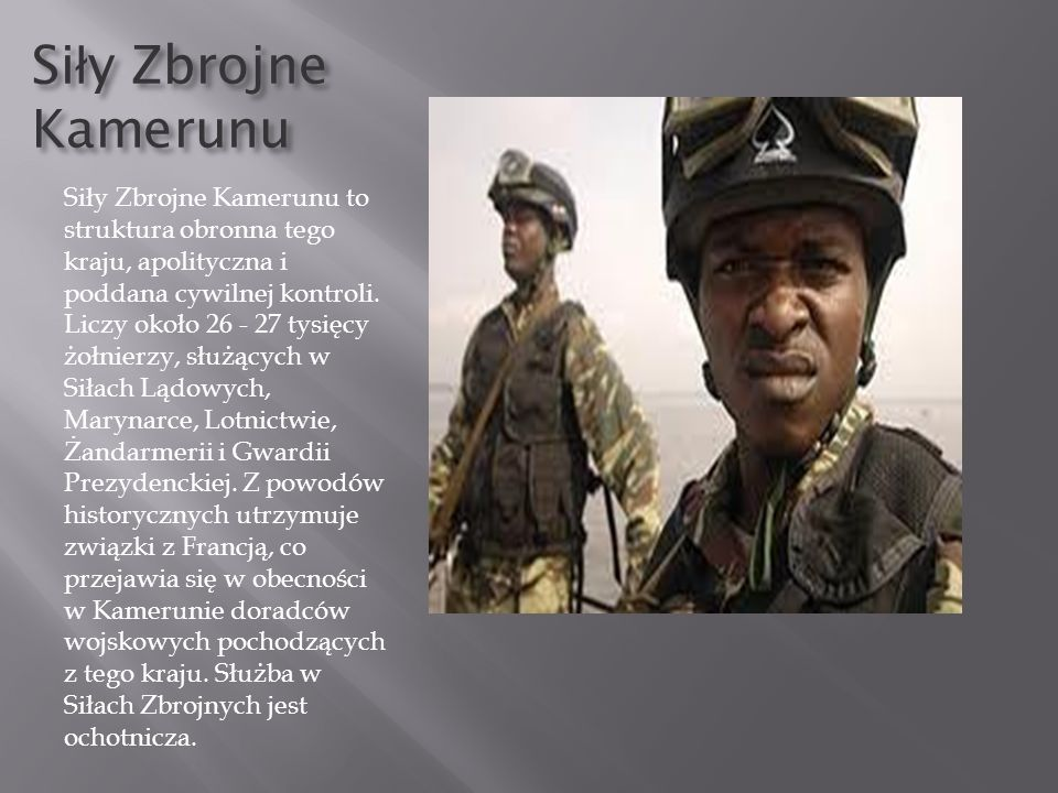 Siły Zbrojne Kamerunu