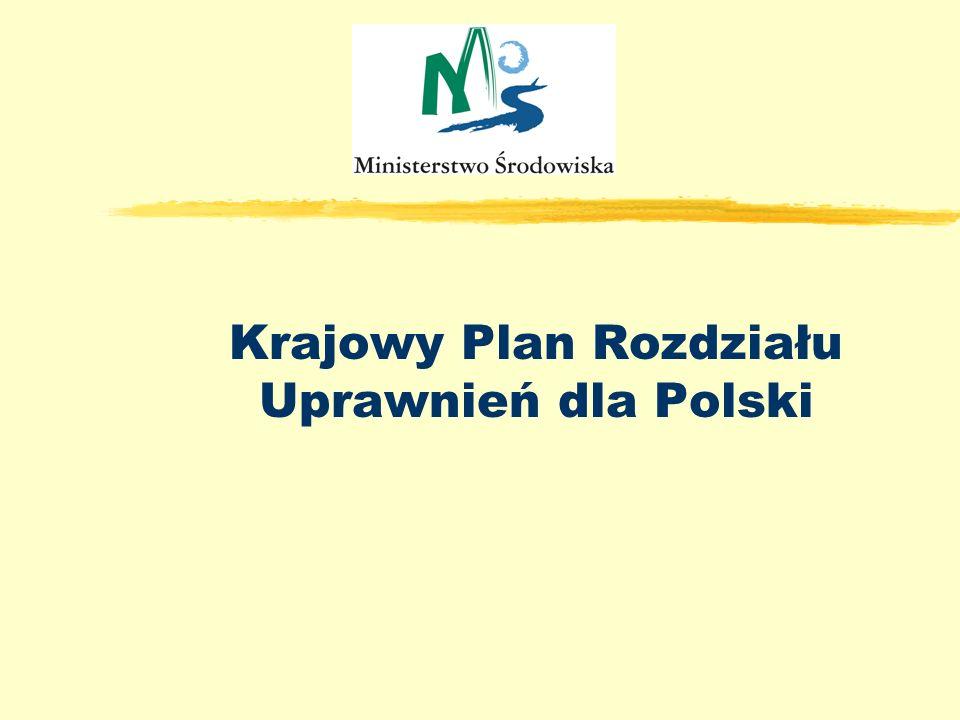 Poland, NAP presentation Krajowy Plan Rozdziału Uprawnień dla Polski