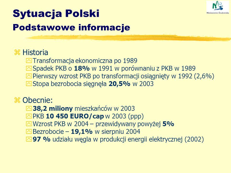 Sytuacja Polski Podstawowe informacje