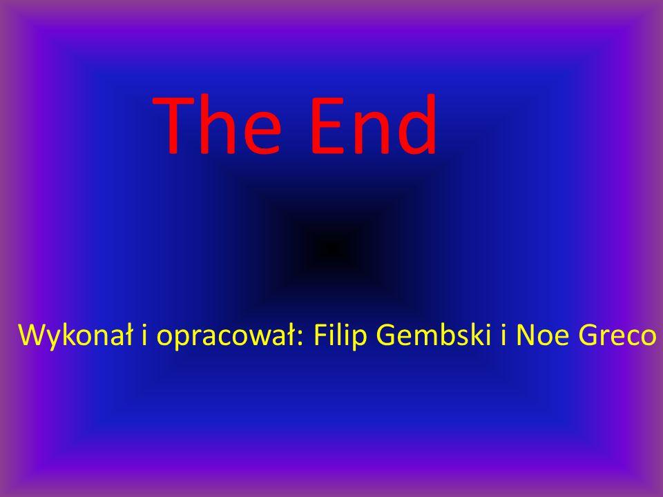 The End Wykonał i opracował: Filip Gembski i Noe Greco