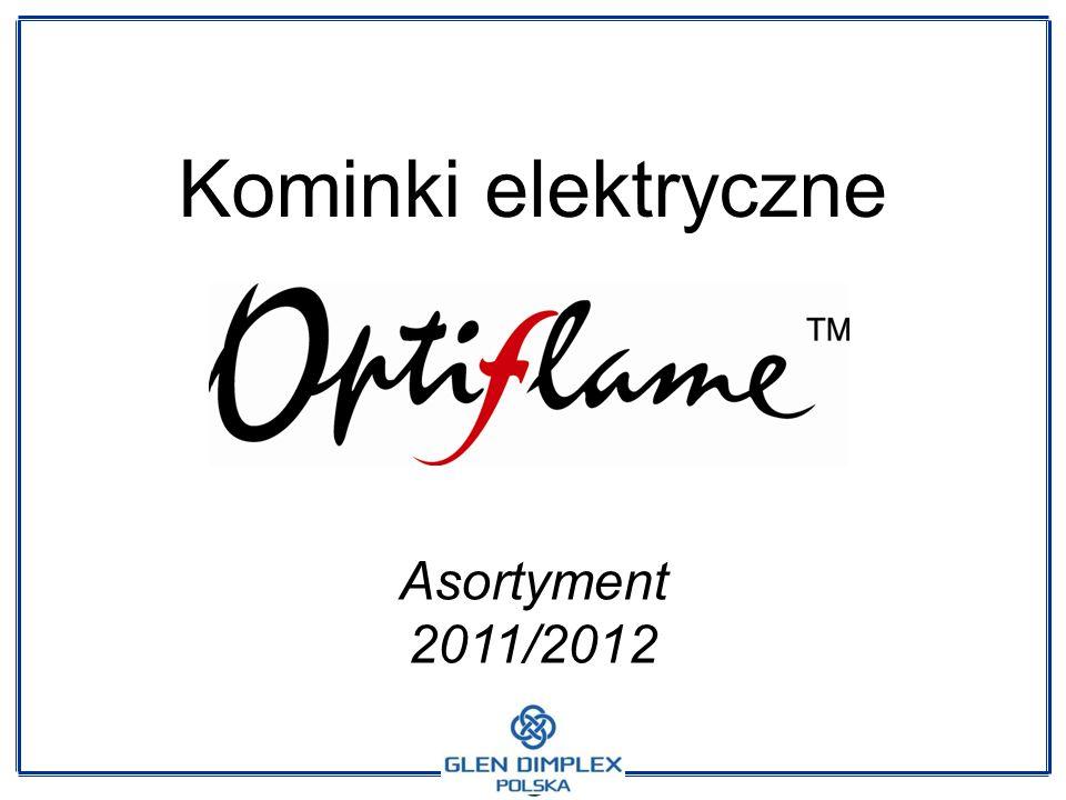 Kominki elektryczne Asortyment 2011/2012