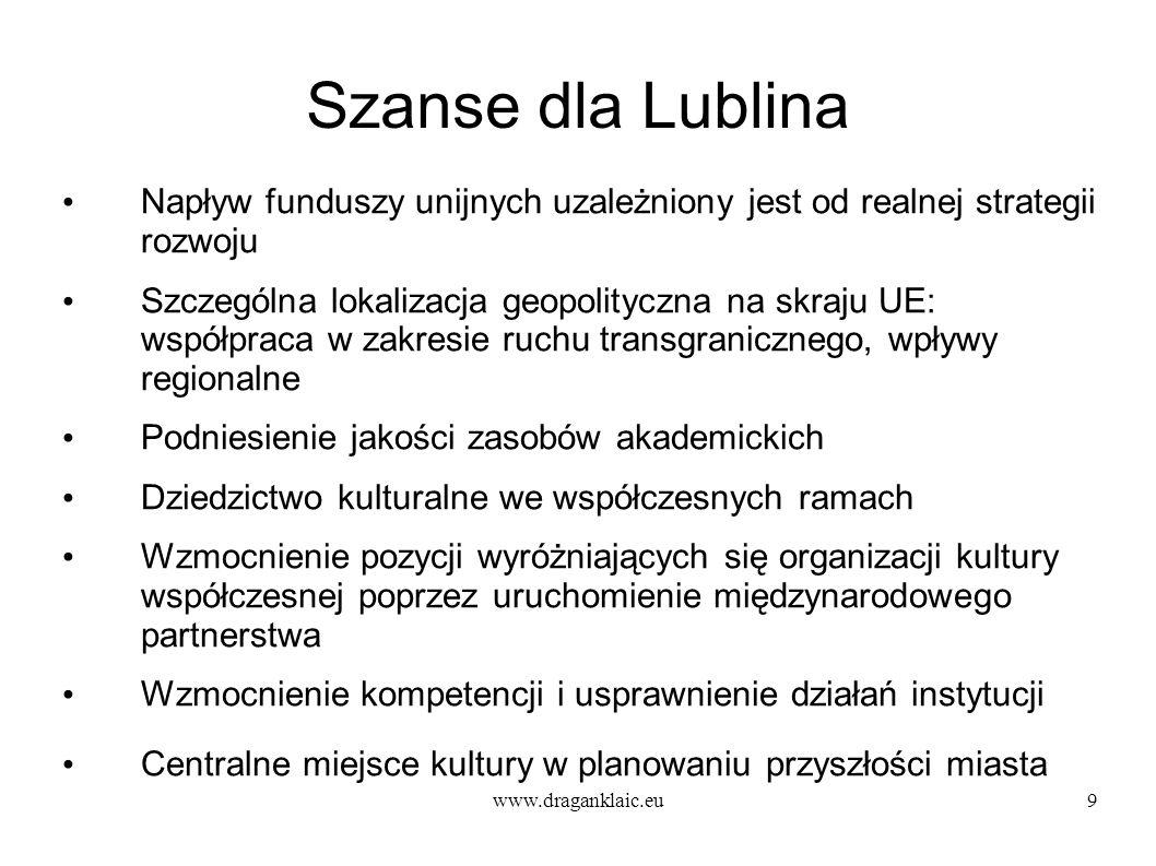 Szanse dla Lublina Napływ funduszy unijnych uzależniony jest od realnej strategii rozwoju.