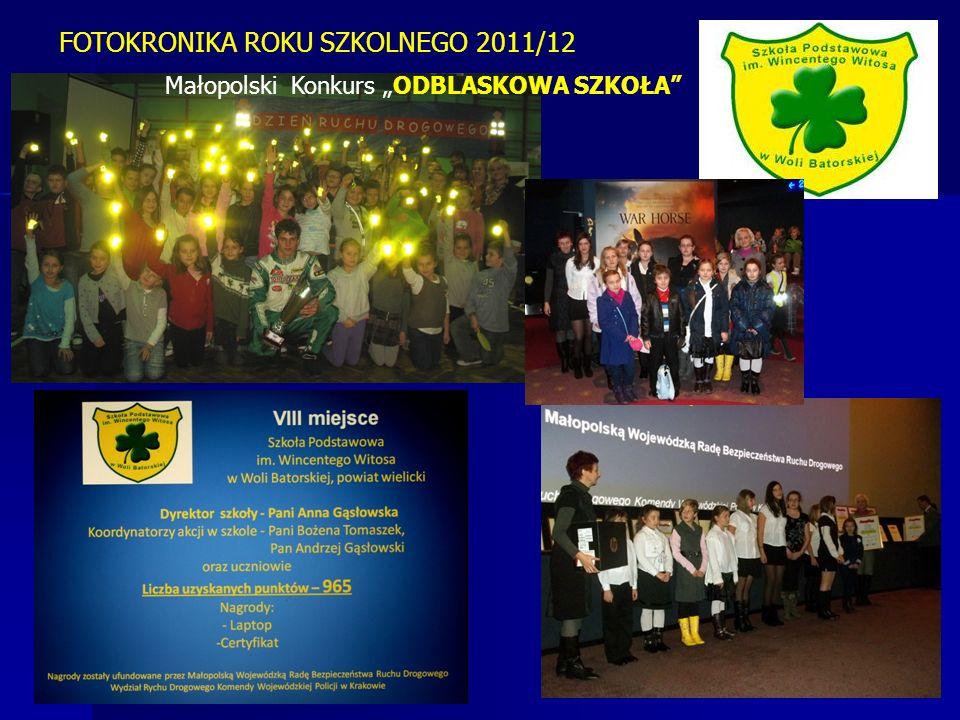 FOTOKRONIKA ROKU SZKOLNEGO 2011/12