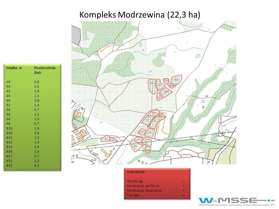 Kompleks Modrzewina (22,3 ha)