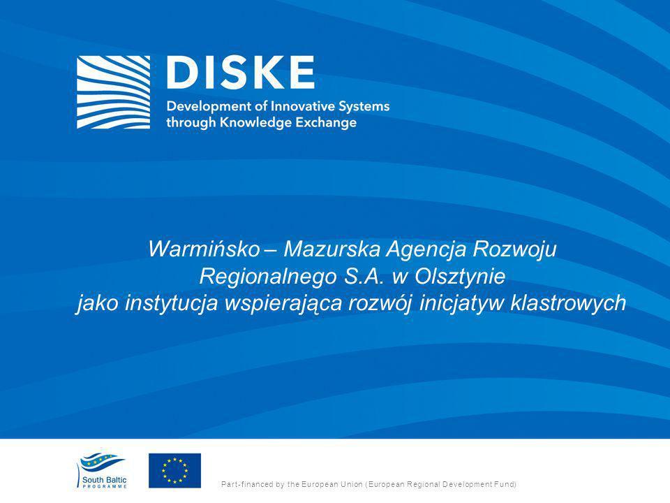 Warmińsko – Mazurska Agencja Rozwoju Regionalnego S. A